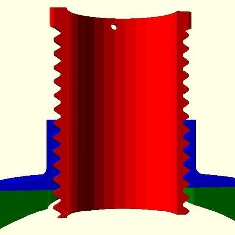 Télécharger objet 3D gratuit Focalisateur télescopique rotatif, arpruss