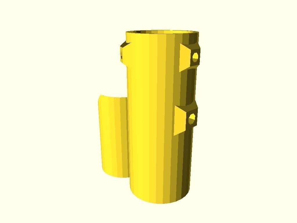 e305c91971bf9004962650c4fb0e97e7_display_large.jpg Download free STL file Adjustable blowgun lasersight mount • 3D printer design, arpruss
