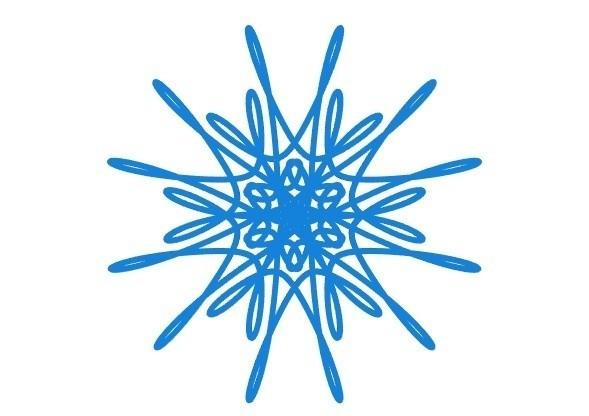 a1006f75743f198afd619cc4f6e3445f_display_large.jpg Télécharger fichier STL gratuit Flocon de neige courbe paramétrique • Plan pour imprimante 3D, arpruss
