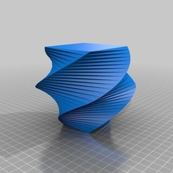 Free 3D printer model Draw a twisty vase, arpruss