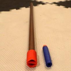 Descargar archivo 3D gratis Protector de aspiración de la boquilla de la pistola de soplado, arpruss