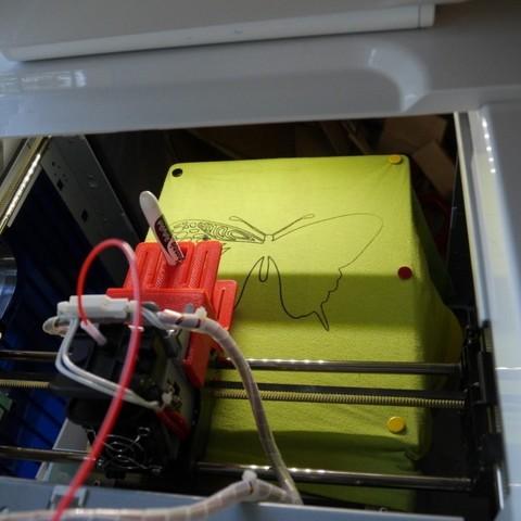 fb0fad90ed51120ab468af364860b969_display_large.JPG Download free STL file Tool clip for Da Vinci 1.0a print head • 3D printable object, arpruss