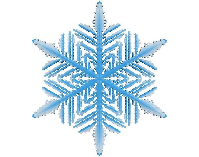 64793df022fae8d5fb59ad57159db994_display_large.jpg Download free STL file Snowflake growth simulation in BlocksCAD • 3D printing design, arpruss