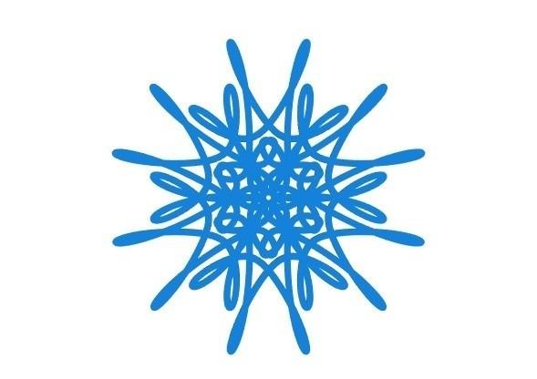 cf92eda18e163cfac0a9d3f1eca44272_display_large.jpg Download free STL file Parametric curvy snowflake • 3D print object, arpruss