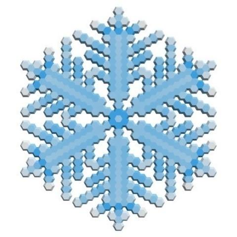 b257c2d310b03d1ef9bb76e1f6952366_display_large.jpg Download free STL file Snowflake growth simulation in BlocksCAD • 3D printing design, arpruss