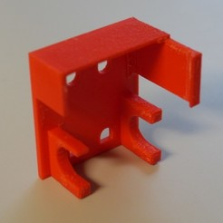 Download free 3D printing templates Tool clip for Da Vinci 1.0a print head, arpruss