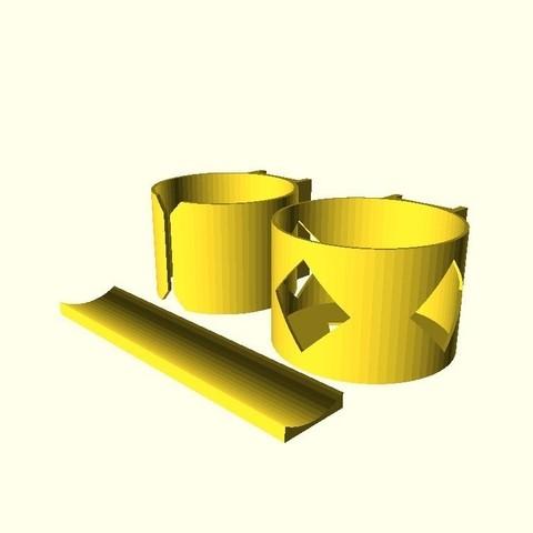 e7f6595ffe7f750e2df84e33b78c3029_display_large.jpg Télécharger fichier STL gratuit Porte-bidon pour bicyclette avec attache à fermeture éclair • Modèle à imprimer en 3D, arpruss