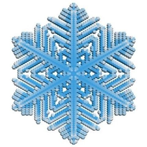 abcdb24e63387f4a255e2bbd4f7aab62_display_large.jpg Download free STL file Snowflake growth simulation in BlocksCAD • 3D printing design, arpruss