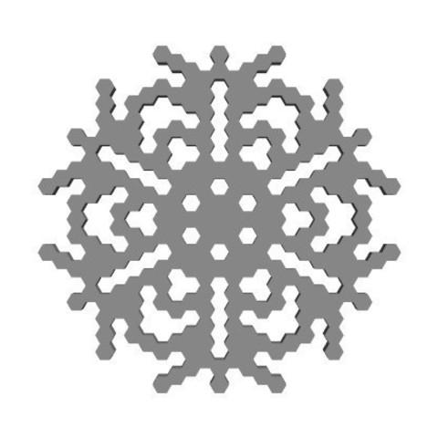 4295cfa3c913650e00d0f9b51fac29f7_display_large.jpg Télécharger fichier STL gratuit Automate cellulaire BlocsGénérateur de flocons de neige CAO • Design imprimable en 3D, arpruss