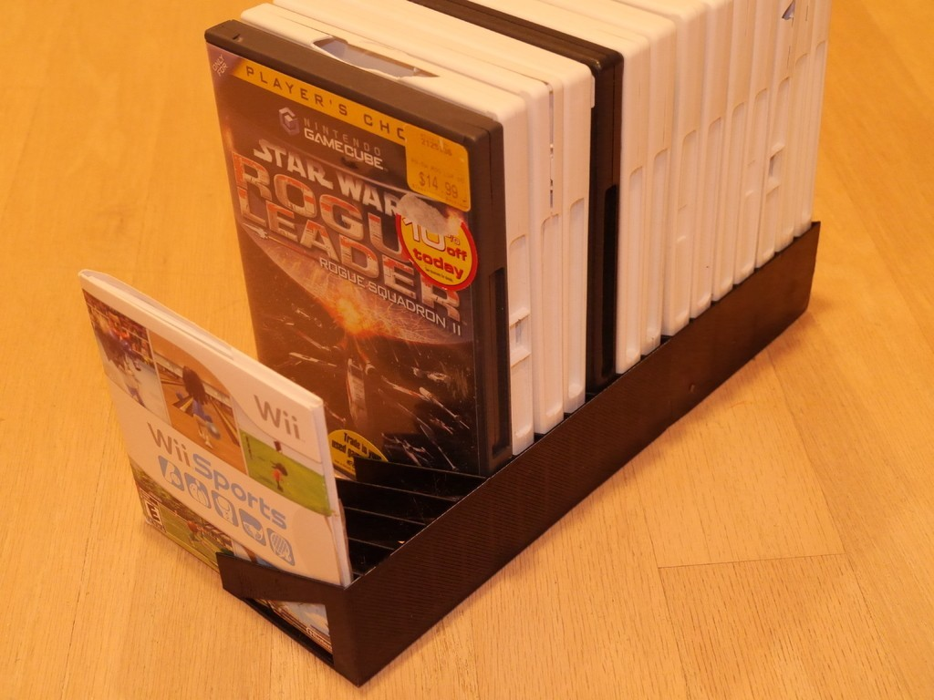 4649da2491db25757c9b61791a319f93_display_large.JPG Download free STL file Yet another DVD/CD/game rack • 3D printable template, arpruss