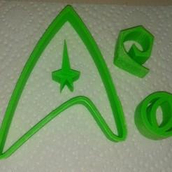 Télécharger fichier 3D gratuit Les emporte-pièces de Starfleet : Commandement, sciences et génie, arpruss
