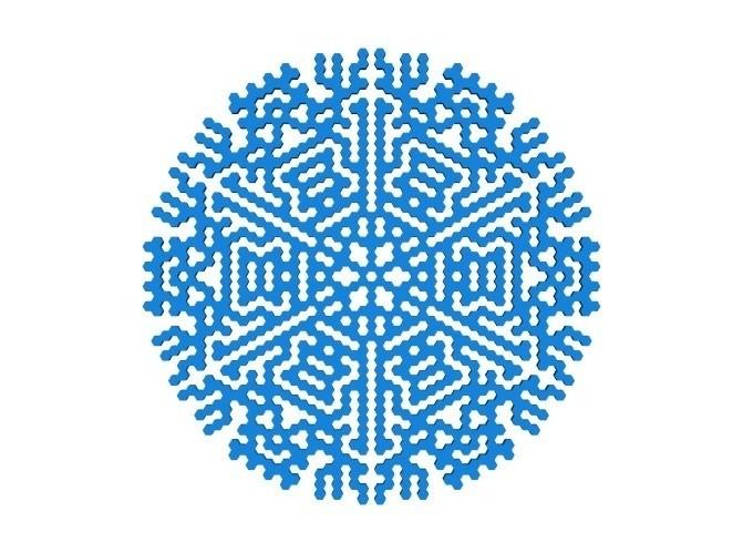 f32540fd030607d31c63945c03edb63e_display_large.jpg Télécharger fichier STL gratuit Automate cellulaire BlocsGénérateur de flocons de neige CAO • Design imprimable en 3D, arpruss