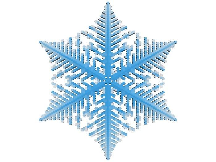 1e565d63afc30612494ddaca8978b67c_display_large.jpg Download free STL file Snowflake growth simulation in BlocksCAD • 3D printing design, arpruss