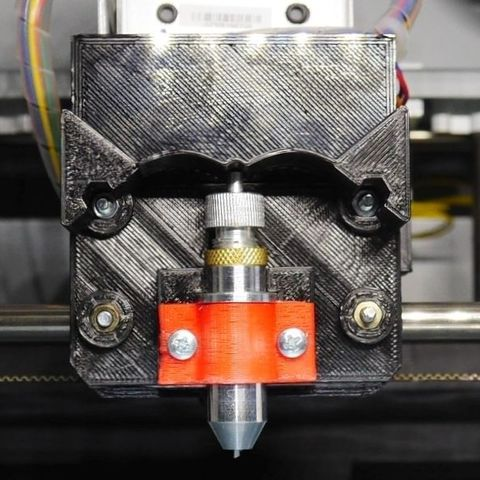Free STL files Plotter cutter blade mount for 3D printer or CNC, arpruss
