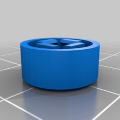 buttoncap110.png Télécharger fichier SCAD gratuit Capuchon de bouton pour microcontact de 12 mm • Modèle à imprimer en 3D, arpruss