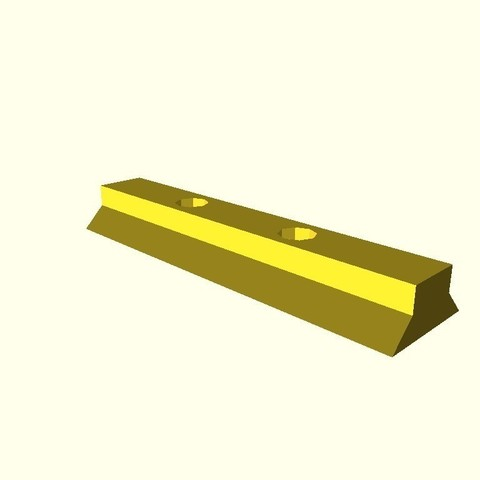 05516f976909f2498c28764ce4ff58c7_display_large.jpg Download free STL file Dovetail for Daisy red dot sight • 3D printing model, arpruss