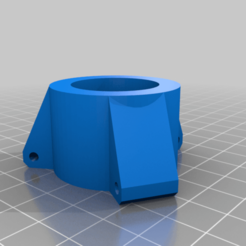 Download free 3D printing designs Tripod spreader hub for cheap tripod, arpruss