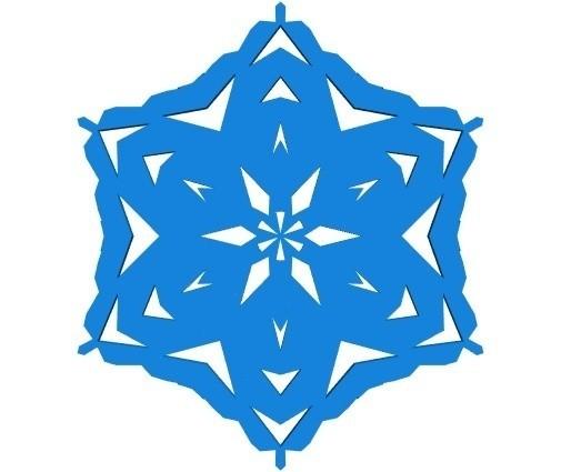 3d88fdd90719b8d5a91051ec5e0147eb_display_large.jpg Télécharger fichier STL gratuit Flocon de neige kirigami aléatoire dans BlocksCAD • Plan pour impression 3D, arpruss