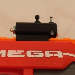 Free 3d model Adjustable Nerf laser sight, arpruss
