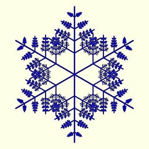 8819180577cc878ec06fef20bdd8baf0_display_large.jpg Télécharger fichier STL gratuit Flocon de neige fractal aléatoire dans les blocsCAD • Modèle pour imprimante 3D, arpruss