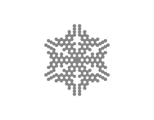 7396efb48950a91e814470db9f81a02d_display_large.jpg Télécharger fichier STL gratuit Automate cellulaire BlocsGénérateur de flocons de neige CAO • Design imprimable en 3D, arpruss
