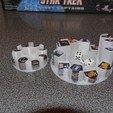 Download free STL file Star Trek Fleet Captains token holders, arpruss