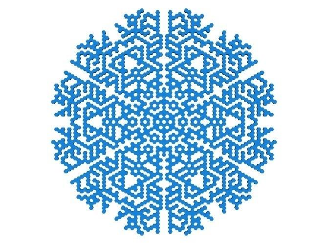 4ce3d044fe8e89e520955f741aa0f406_display_large.jpg Télécharger fichier STL gratuit Automate cellulaire BlocsGénérateur de flocons de neige CAO • Design imprimable en 3D, arpruss