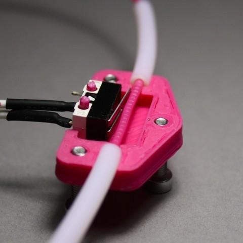 Descargar STL gratis Caja del sensor de escorrentía de filamentos de la tarántula Tevo, stylesuxx