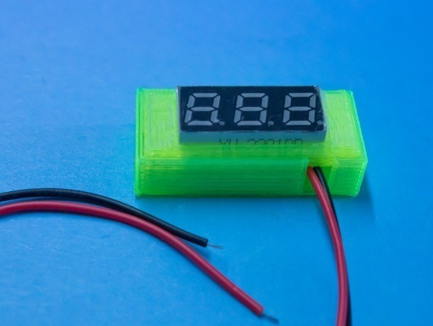 d5aaca660e8ae9c023e3fdc116b98757_display_large.jpg Download free STL file Customizable Case for Seed Technology Voltmeter • 3D printing template, stylesuxx
