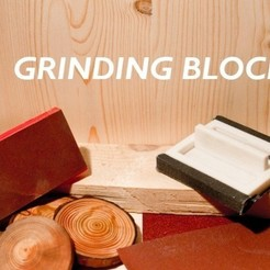 Download free 3D printer designs Customizable Grinding Block, stylesuxx