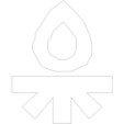 Feuer_display_large.jpg Download free STL file CCCamp15 Keychain • 3D print design, stylesuxx