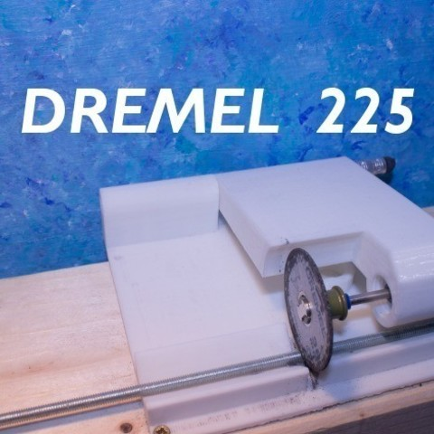Download free 3D printing templates Rotary Tool Cutoff Saw Hinge for Dremel Model 225, stylesuxx