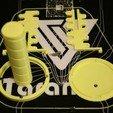 Impresiones 3D gratis Marco de antena helicoidal (helicoidal) personalizable y plantilla de bobinado, stylesuxx