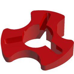 Sin título-1.jpg Download STL file Karting steering wheel tilt • Object to 3D print, ArteGrafico