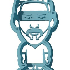 Download 3D printer files Messi Cookie Cutter, ArteGrafico