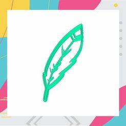 4.jpg Télécharger fichier STL PLUME - EMPORTE-PIÈCE - PLUME - EMPORTE-PIÈCE • Design à imprimer en 3D, ArteGrafico