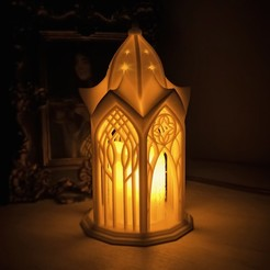 5.jpg Download 3DS file Elvish Lantern • 3D print object, tilbe