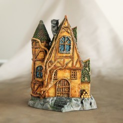 Download OBJ file Fairy Cottage • 3D print template, tilbe