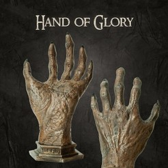 Download STL file Hand of Glory, tilbe