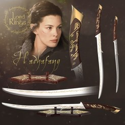 cover.jpg Download OBJ file Arwen Sword & Holder - Hadhafang - Lord of the Rings • 3D printing model, tilbe