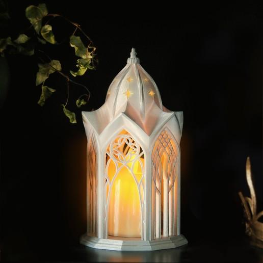 Download STL files Elvish Lantern, tilbe