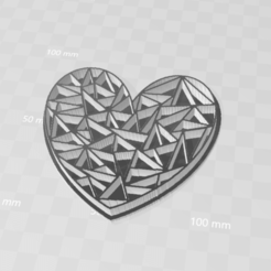 3D printer files HEART CAKE MOLD , blackygoldcat