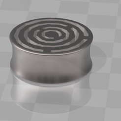Download 3D print files EARPLUGS spiral, blackygoldcat
