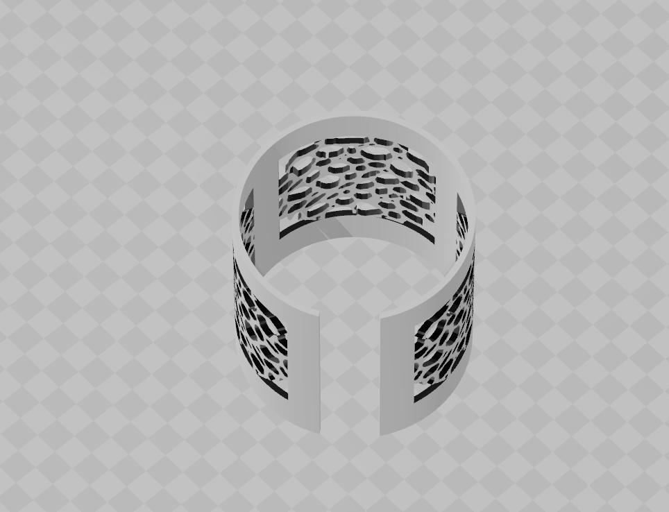 eee.png Download STL file FAKE HELIX earring • 3D print design, blackygoldcat
