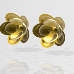 00000000000000000000000000000000000000.png Download STL file flower earrings  • 3D printable object, blackygoldcat