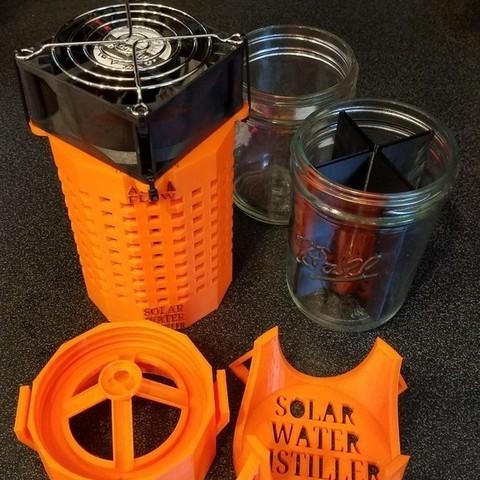 9bffee90ff55681d1445203a786155fa_display_large.jpg Download free STL file DIY Solar Water Still ( Survival Distiller ) Purifier • 3D printable template, SuperSteve