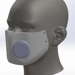 Download free STL files Medical Mask - corona virus, cybersy