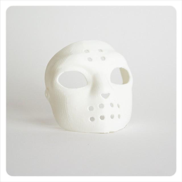 MAKIES_Hockey_Mask_Arctic_White_display_large.jpg Download free STL file Makies Hockey Mask • 3D printable template, Makies