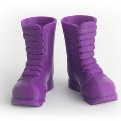 Download free 3D model Makies Industrial Boots, Makies