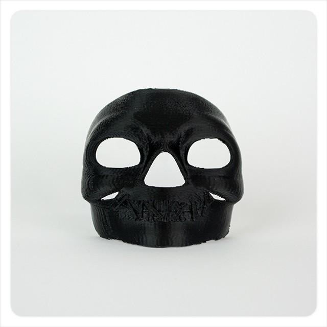 MAKIES_Spooky_Skull_Mask_Classic_Black_display_large.jpg Download free STL file Makies Spooky Skull Mask • 3D printing model, Makies